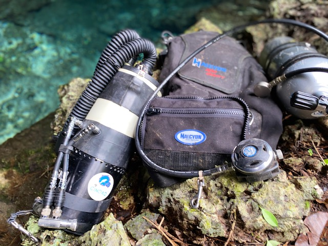 Cave Exploration and the Inception of the Sidemount RBK Rebreather
