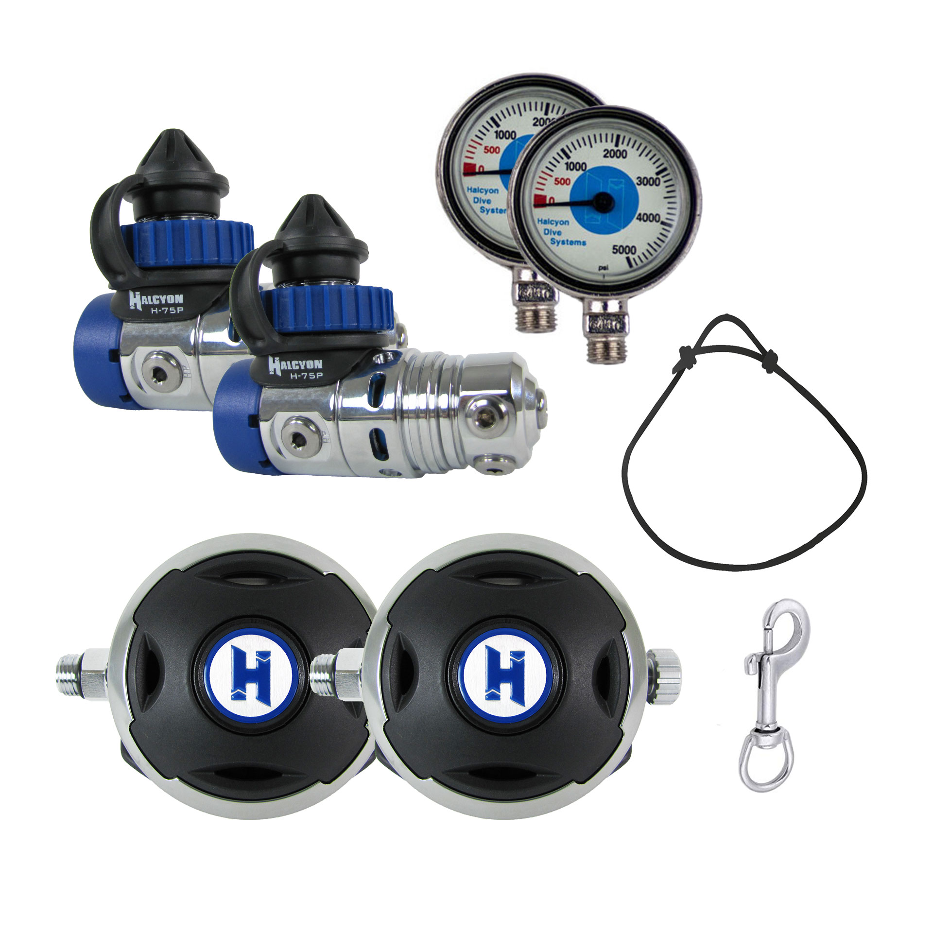 H-75P Sidemount Regulator Package