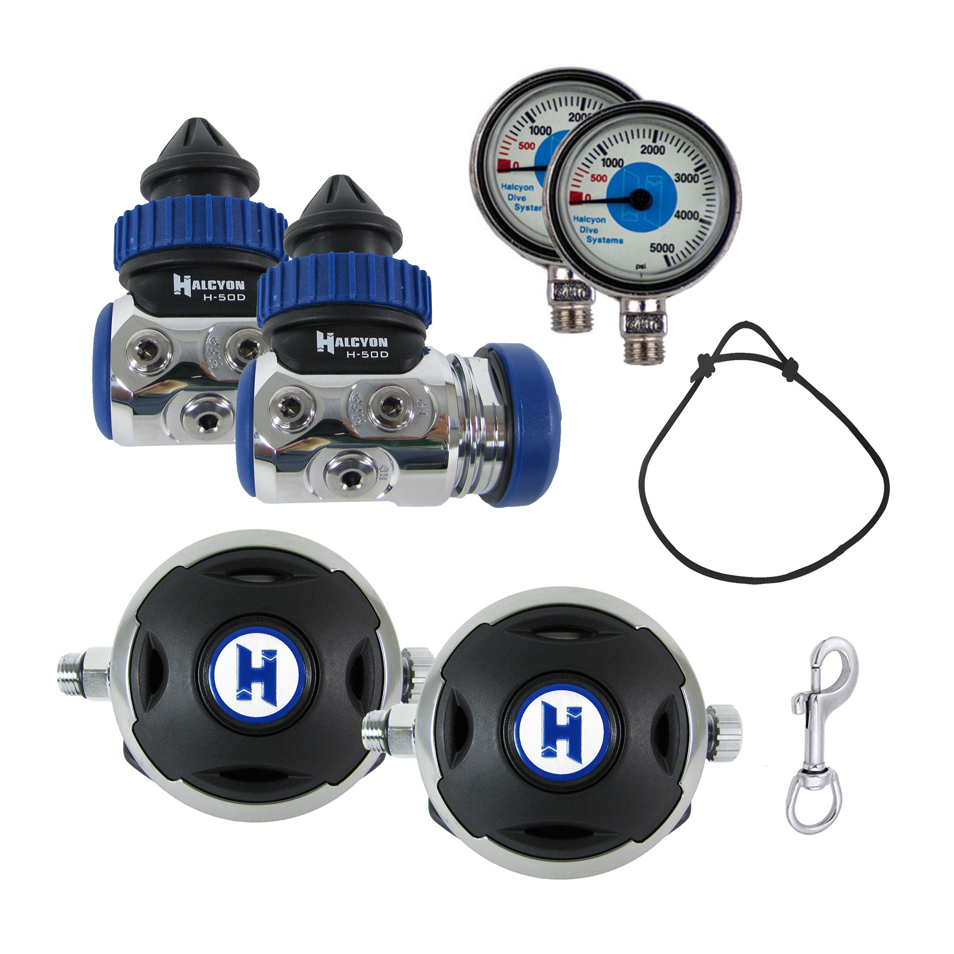 H-50D Sidemount Regulator Package