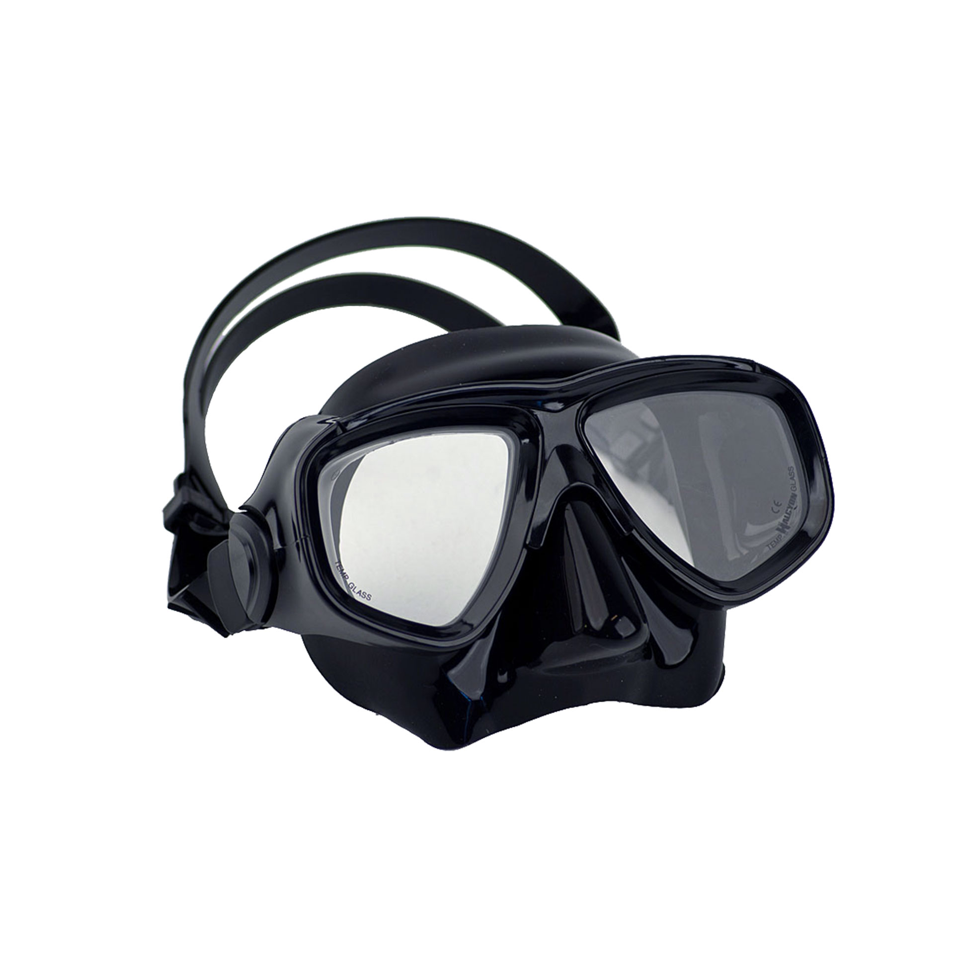 Low-Profile Dual Lens Mask